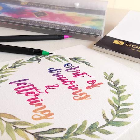 mejores rotuladores para lettering